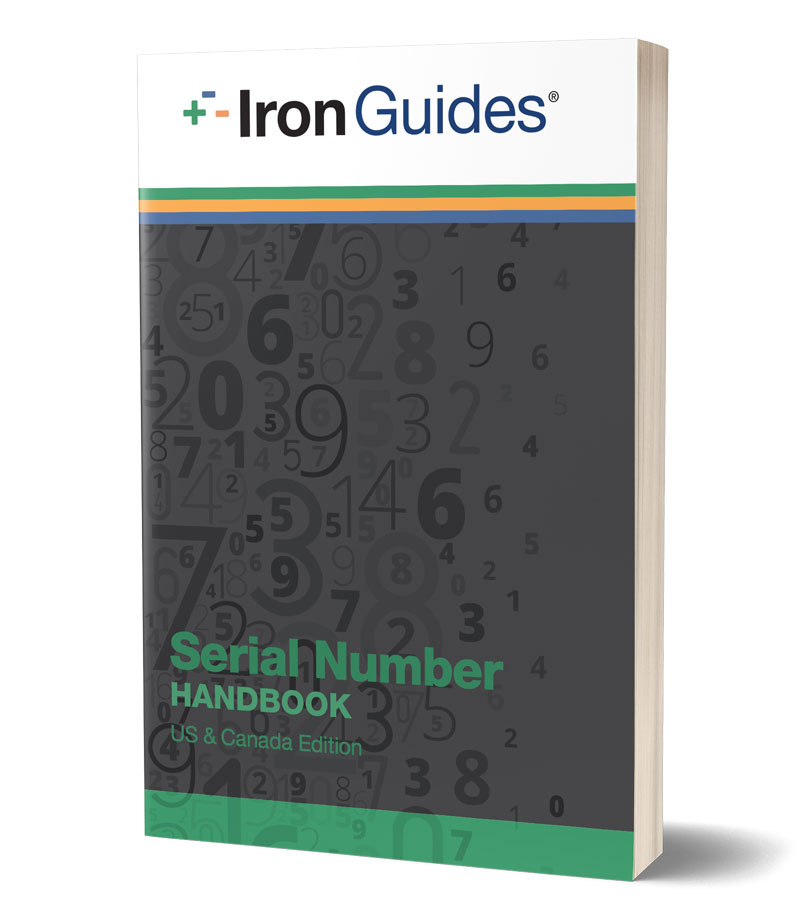 IronGuides Serial Number Handbook